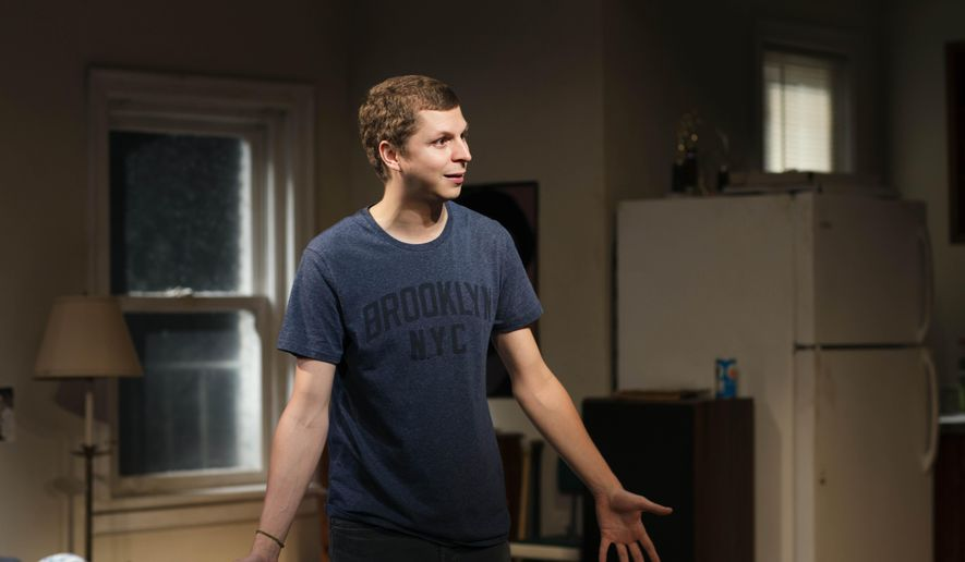 "This undated photo provided by Philip Rinaldi Publicity shows Michael Cera in a scene from ""The Is Our Youth,"" by Kenneth Lonergan, directed by Anna D. Shapiro, at the Cort Theatre in New York. (AP Photo/Philip Rinaldi Publicity, Brigitte Lacombe)"