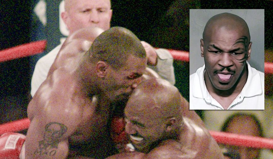 Former heavyweight champ Mike Tyson served time for rape, road rage, and possesion of narcotics and DUI.