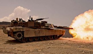 M1 Abrams Main Battle Tank. (image: Wikimedia Commons)