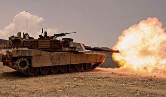 M1 Abrams Main Battle Tank. (image: Wikimedia Commons)