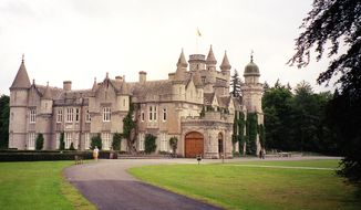 The most likely venue for meetings between President Trump and British Prime Minister Theresa May is Queen Elizabeth's Balmoral Castle, where high security is the norm whenever the monarch is in residence. (Associated Press/File)