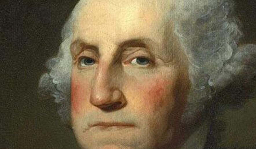 George Washington    Portrait by Gilbert Stuart