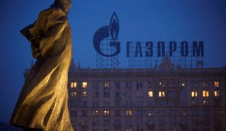 Analysts say the latest round of sanctions announced tightens the noose around Russia's energy sector, making it particularly hard to invest in long-term projects to tap into new sources of oil and gas. Such sanctions might tempt Moscow to halt the flow of gas and oil, particularly the large share of gas exported through the Gazprom pipeline that crosses through Ukraine. (Associated Press)
