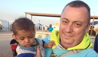 This undated family handout photo shows British man Alan Henning, currently held hostage by Islamic State (IS) and whose life was threatened in the IS video in which they beheaded David Haines. (AP Photo/PA Wire)