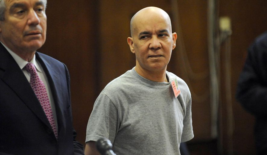 FILE - In this Nov. 15, 2012 file photo, Pedro Hernandez, right, appears in Manhattan criminal court with his attorney Harvey Fishbein, in New York. Circumstances of Hernandez' confession are set to be scrutinized at a hearing to determine whether his statements are fair game for trial -- a question that rests partly on whether he was mentally capable of waiving his rights. (AP Photo/Louis Lanzano, Pool, File)