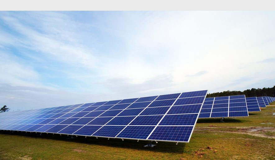 Duke Energy's new solar facilities will look similar to the company's existing ones. Pictured is the Millfield Solar Power Project in Beaufort County, N.C. (PRNewsFoto/Duke Energy)
