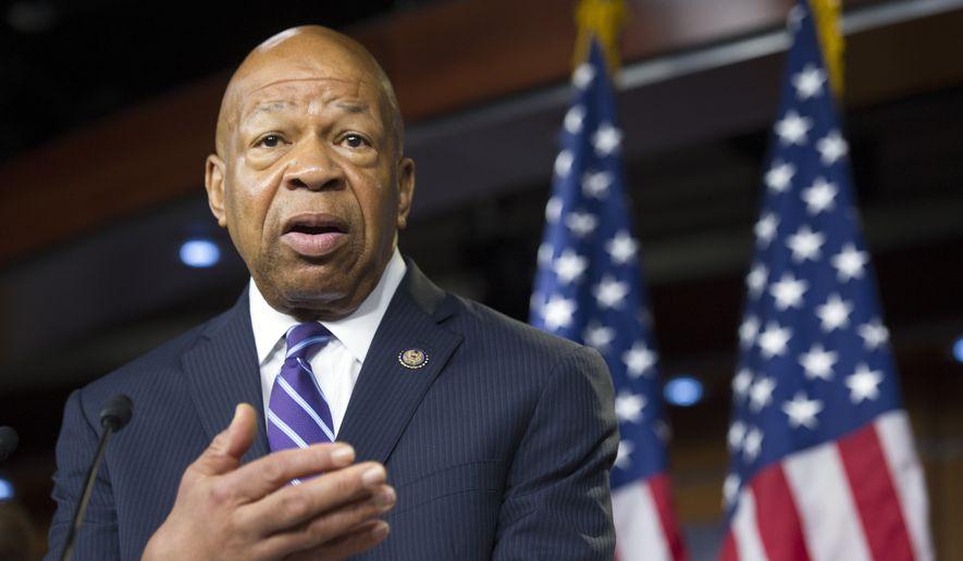 Rep. Elijah Cummings, D- Md.,  (AP Photo/Cliff Owen) **FILE**