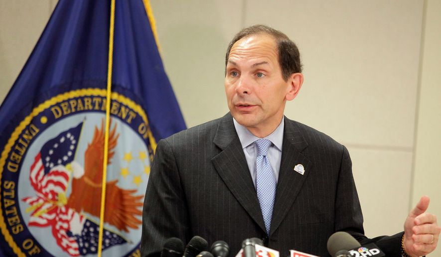 Congress had said the VA's ability to send out the cards on time was a key test for the Obama administration and Secretary Bob McDonald (above), whom the president tapped to replace Secretary Eric K. Shinseki. (Associated Press)