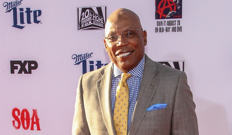 """FILE - In this Saturday, Sept. 6, 2014 file photo, Paris Barclay attends the LA Premiere Screening of """"Sons Of Anarchy"""" at at TCL Chinese Theatre, in Los Angeles. A new guild study says that women and minorities were largely shut out of the ranks of TV directors again last season. In a Wednesday, Sept. 17, 2014 statement, Directors Guild President Barclay said it can be """"shockingly difficult"""" to persuade those who control industry hiring to make even small improvements. (Photo by Paul A. Hebert/Invision/AP, file)"""