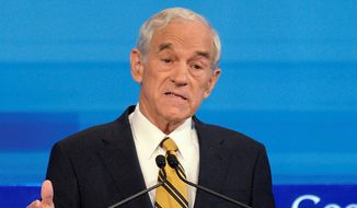 Former Texas Rep. Ron Paul, a Republican, is the driving force behind LPAC, the three-day Liberty Political Action Conference, which begins Thursday in a lofty Virginia hotel outside Washington, and hosts 800 eager guests. (Associated Press)