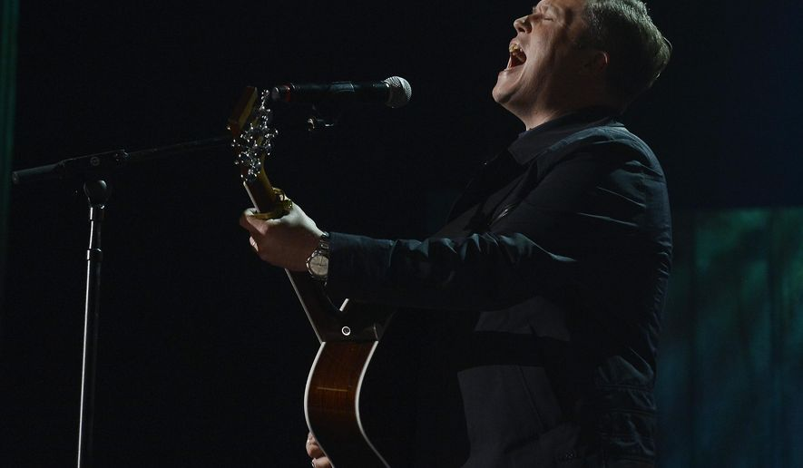 Jason Isbell performs during the Americana Music Honors and Awards show Wednesday, Sept. 17, 2014, in Nashville, Tenn. (AP Photo/Mark Zaleski)