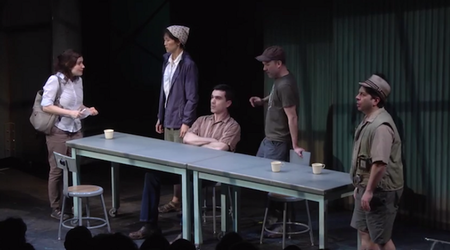 """""""The Great Immensity,"""" produced by Brooklyn-based theater company The Civilians, Inc., has ended its run after reaching just five percent of its anticipated audience. (YouTube/PublicTheaterNY)"""