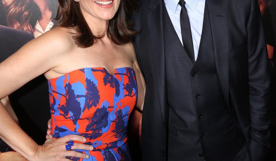 """FILE - In this Monday, Sept. 15, 2014 photo, Tina Fey, left, and Jason Bateman arrive at the Los Angeles premiere of """"This Is Where I Leave You"""" at the TCL Chinese Theatre in Los Angeles. The comedy releases Friday, Sept. 19, 2014.  (Photo by Matt Sayles/Invision/AP, file)"""