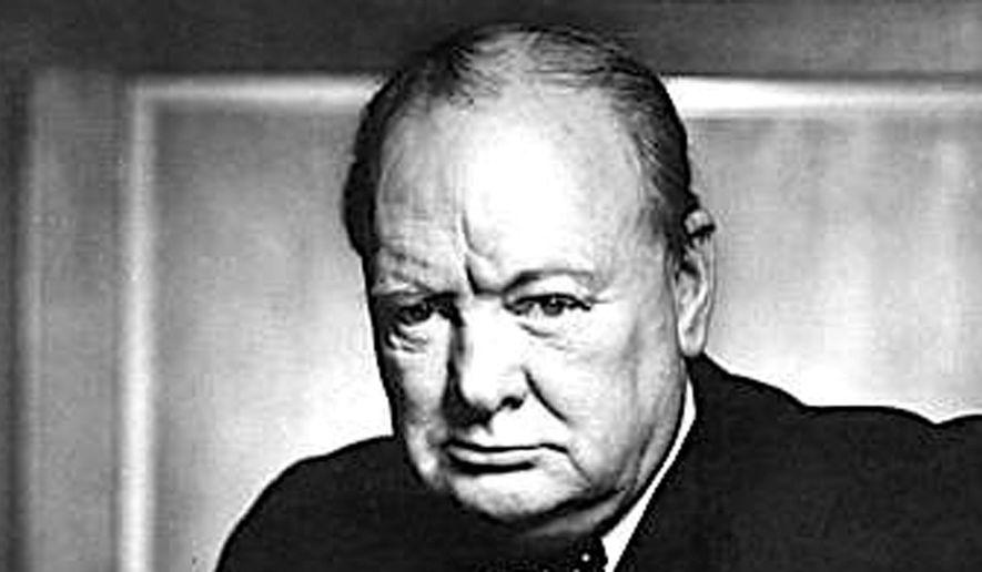 Winston Churchill    Associated Press photo