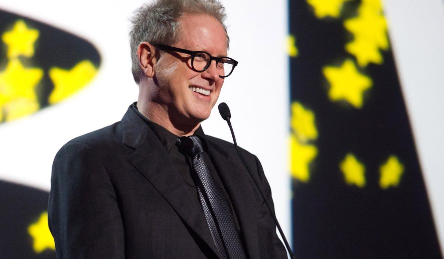 """FILE - In this June 13, 2011 file photo, Darrell Hammond appears onstage at the 15th Annual Webby Awards in New York. Hammond, who spent 14 years in the cast of """"Saturday Night Live,"""" will replace longtime announcer Don Pardo for the show's season opener on Sept. 27, the show announced Thursday, Sept. 18, 2014. (AP Photo/Charles Sykes, File)"""
