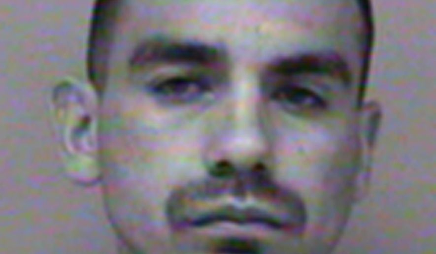 This undated booking photo provided by the Madera, Calif., County Jail shows Roel Soliz, 29. Soliz is one of five inmates who escaped from the jail in the Central Valley city of Madera, Calif., late Friday, Sept. 19, 2014. The five were being held on various charges including attempted murder and armed robbery. It's unclear how the men, who are believed to be gang members, escaped from the jail. Authorities say all five men should be considered armed and dangerous. (AP Photo/Madera County Jail)