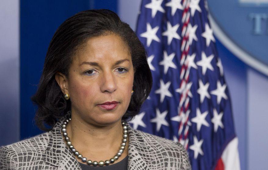 National Security Adviser Susan Rice (Associated Press) **FILE**