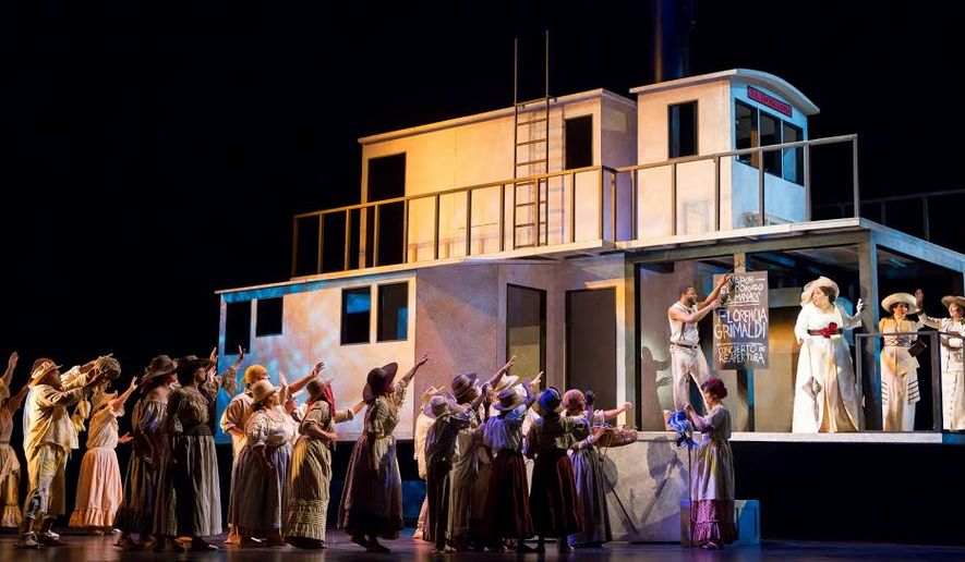 "The Washington National Opera's production of ""Florencia in the Amazon."" Photo by Scott Suchman"
