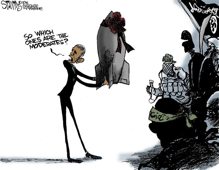 Illustration by Scott Stantis of the Chicago Tribune