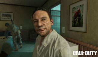 "This image provided by Activision Blizzard Inc. shows Manuel Noriega as depicted in the game publisher's 2012 game, ""Call of Duty: Black Ops II."" Activision on Monday, Sept. 22, 2014 announced that former New York City Mayor Rudy Guiliani is joining the video game maker's legal team in seeking to dismiss a lawsuit filed by the former Panamanian dictator for use of his likeness without permission. (AP Photo/Activision Blizzard)"