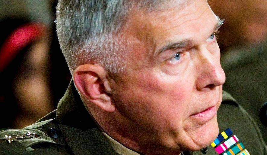 Gen. James Conway            Associated Press photo