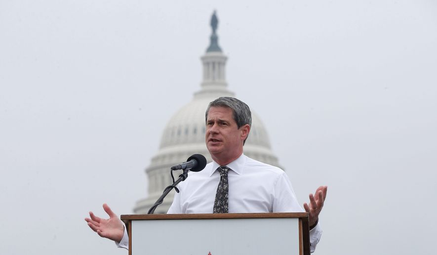 """Enough is enough, and they need to provide answers to why they think illegal immigrants should be eligible for Obamacare."" Sen. David Vitter said. (Associated Press)"