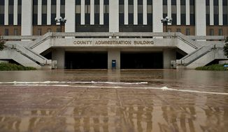 The Prince George's County Administration Building in Maryland. (T.J. Kirkpatrick/ The Washington Times)