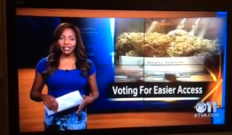 KTVA reporter Charlo Greene shocked viewers Sunday night when she wrapped up a segment on the Alaska Cannabis Club by announcing she is the owner of that very club and that she is quitting her job with the station. (KTVA)