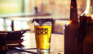 "Two bartenders in Washington, D.C., have teamed up to create the prototype for a product meant to combat date rape called the ""DrinkLock."" (Facebook/DrinkLock)"