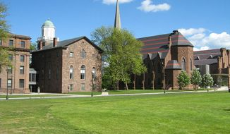Wesleyan University in Middletown, Connecticut. (Wikipedia)