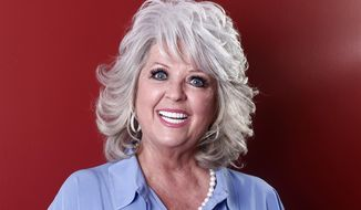 In this Jan. 17, 2012, file photo, celebrity chef Paula Deen poses for a portrait in New York. The Paula Deen Network, that is heavy on new videos starring the celebrity chef, goes live Wednesday, Sept. 24, 2014. (AP Photo/Carlo Allegri, File) ** FILE **