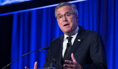 While former Florida Gov. Jeb Bush stumps for GOP Senate candidates, he also is stoking speculation about his own ambitions. (Associated Press)
