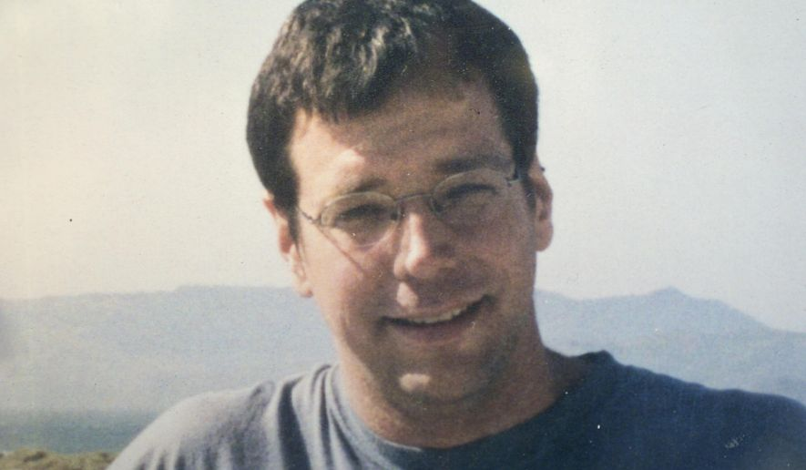 This undated photo provided by his family shows journalist Michael Scott Moore. Moore, 45, a German-American journalist who was held for two years and eight months as a captive of pirates in Somalia, was released Tuesday, Sept. 23, 2014 and flown to Kenya. A pirate commander says negotiators paid $1.6 million for his release, but a German foreign ministry spokeswoman would not confirm that. U.S. policy prohibits paying ransoms. (AP Photo/Family Photo)