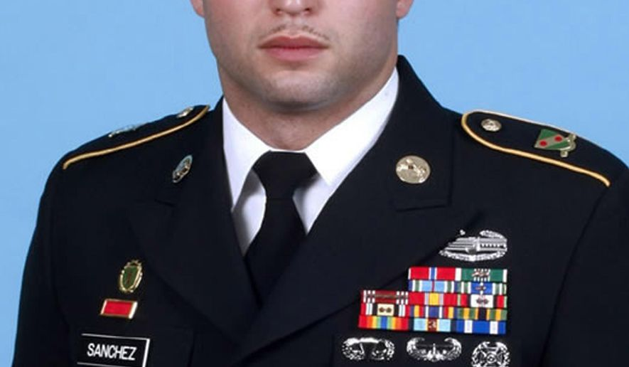 In this photo provided by the U.S. Army is Staff Sgt. Angel Sanchez. Sanchez, 30, is accused of using his supervisory position with the 14th Military Police Brigade to threaten some of the women he was tasked with training. Most of the allegations involved women at Fort Leonard Wood in Missouri, but some involved women in Afghanistan and Fort Richardson, Alaska. (AP Photo/U.S. Army)
