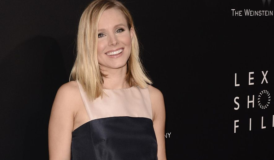 "FILE - In this July 30, 2014 file photo, actress Kristen Bell attends the world premiere of ""Lexus Short Films"" at Regal LA LIVE in Los Angeles. Bell offered eco-friendly lifestyle tips as a brand ambassador for Neutrogena Naturals on Tuesday, Sept. 23, 2014, in Bel Air, Calif. (Photo by Dan Steinberg/Invision/AP, file)"