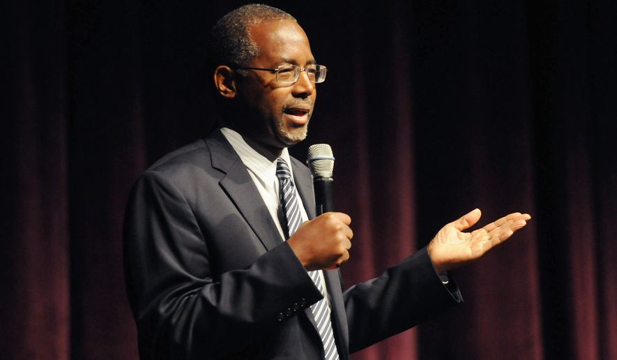 Leaders gathered in Washington for the Black Conservative Summit were hesitant to endorse any one candidate, but pediatric neurosurgeon Ben Carson has been getting lots of positive attention, as well as others who challenge the establishment. (Associated Press)