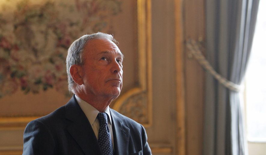 Michael Bloomberg can't find enough anti-gun candidates to