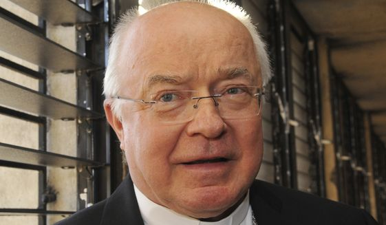 The Vatican says it has put defrocked Archbishop Jozef Wesolowski, its former ambassador to the Dominican Republic, under house arrest following allegations he sexually abused young boys in the Caribbean country. (AP Photo/Manuel Diaz, File)