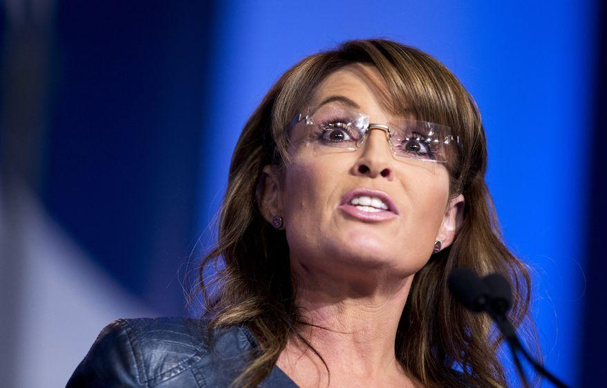 Former Alaska Gov. Sarah Palin (AP Photo/Manuel Balce Ceneta)