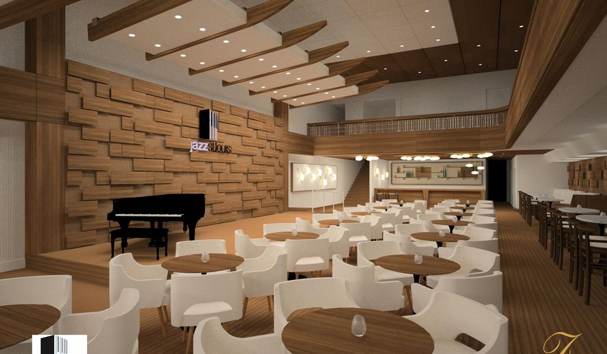 This artist's rendering provided by Jazz St. Louis shows the new Harold & Dorothy Steward Center, in St. Louis. Trumpeter Wynton Marsalis and Jazz at Lincoln Center Orchestra are scheduled to perform at the grand opening of the center on Thursday. (AP Photo/Jazz St. Louis)