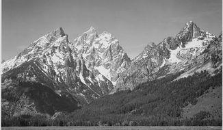 Grand Teton National Park, Wyoming. Ansel Adams, 1941