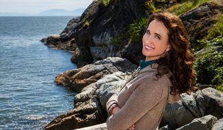 """""""It is my first time working longterm in television. Like anything in my history, I've learned that if you get the right people together, you can create something very special,"""" said Andie MacDowell, who stars as Olivia Lockhart in """"Cedar Cove."""" (Hallmark Channel via Associated Press)"""