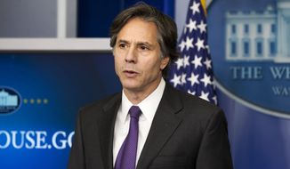 Deputy National Security Adviser Tony Blinken said the Obama policy on Syria will be nothing like Bush-era war on terror in Iraq and Afghanistan. (AP Photo)