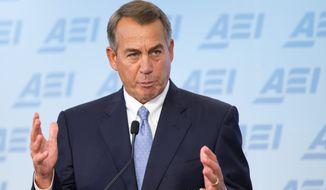 House Speaker John A. Boehner. (AP Photo/Manuel Balce Ceneta)