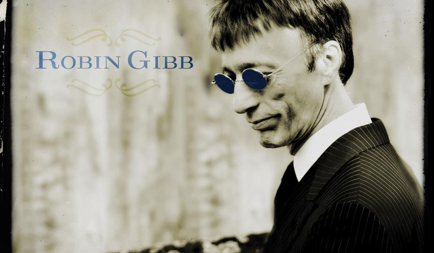 "This CD cover image released by Warner shows ""50 St. Catherine's Drive,"" by Robin Gibb. (AP Photo/Warner)"