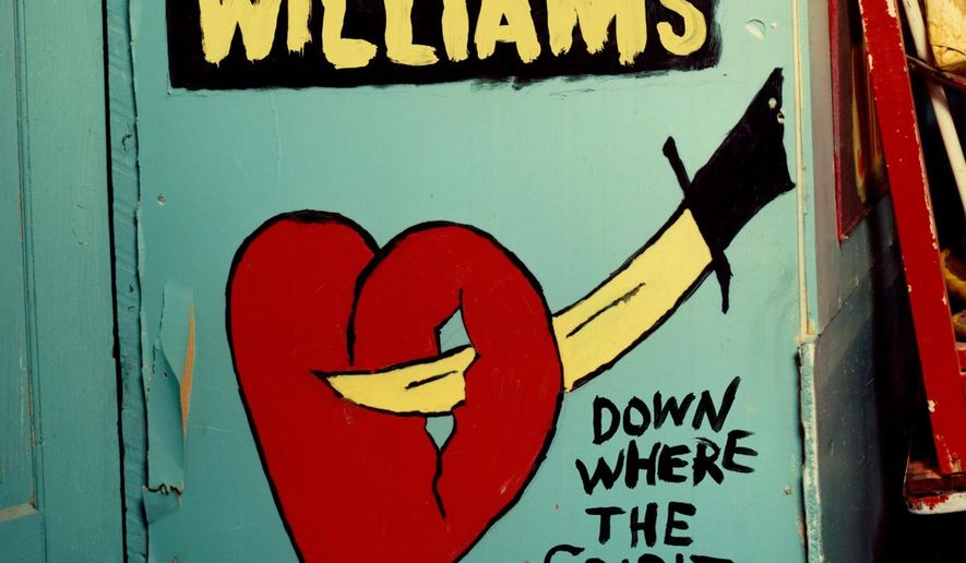 "This CD cover image released by Highway 20 Records shows ""Down Where the Spirit Meets the Bone,"" by Lucinda Williams. (AP Photo/Highway 20 Records)"