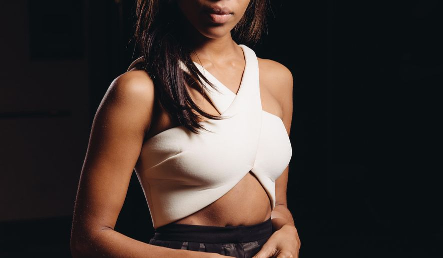 "FILE - In this July 20, 2014 file photo, actress Nicole Beharie poses for a portrait during press day for ""Sleepy Hollow"" in Beverly Hills, Calif.  The mythical drama airs Monday nights  at 9 p.m. on Fox. (Photo by Casey Curry/Invision/AP)"