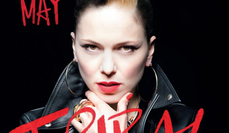 "This CD cover image released by Verve shows ""Tribal,"" by Imelda May. (AP Photo/Verve)"