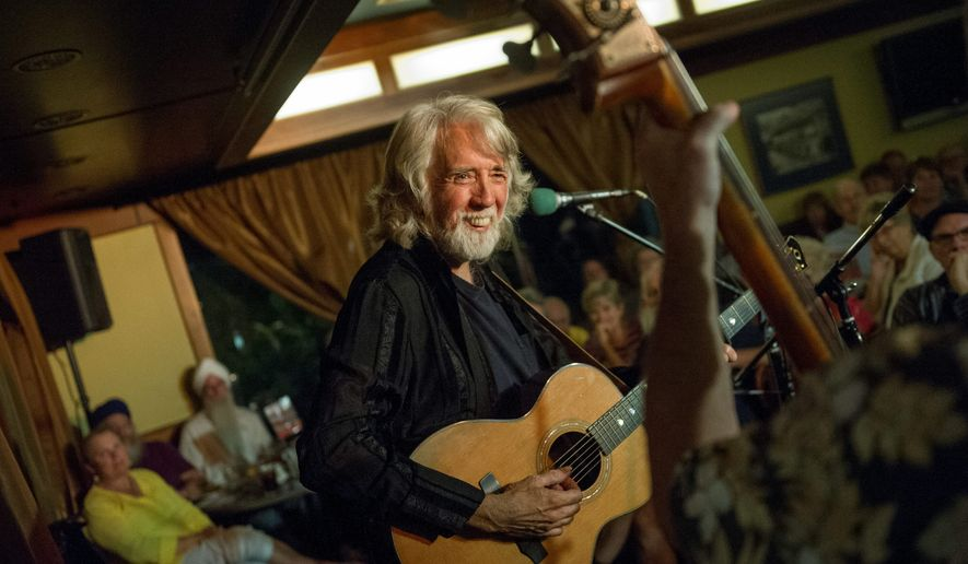 Grammy winner John McEuen (above) will be joined by ex-Nitty Gritty Dirt Band members Les Thompson and John Cable for Thursday's show at Jammin Java in Vienna, Virginia. Lori McKenna (below) is appearing on Thursday at the Birchmere in Alexandria. (Rod Lamkey Jr./Special to The Washington Times)