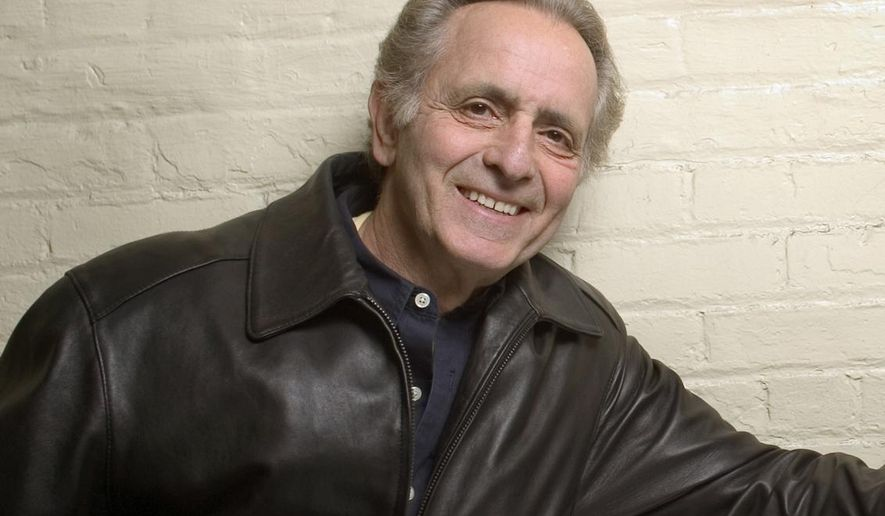 """FILE - In this April 8, 2004 file photo, playwright Mark Medoff author of """"Children of a Lesser God,"""" poses in New York. Producer Hal Luftig said Monday that a revival is in the works for the 2015-2016 Broadway season. Tony Award-winner Kenny Leon will direct.  (AP Photo/Justin Walters, File)"""